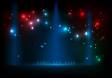 Abstract background happy new year. Royalty Free Stock Photos