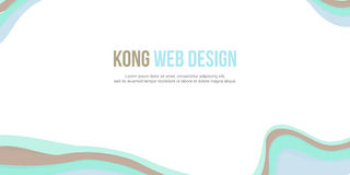 Abstract background header website design modern collection. Vector royalty free illustration