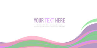 Abstract background header website design. Vector illustration royalty free illustration