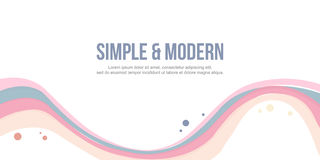 Abstract background header website simple modern design. Illustration stock illustration