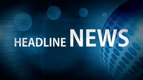 Abstract background headline news Stock Photos