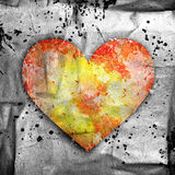 Abstract background with heart Stock Photos