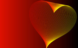 Abstract background with heart Stock Photography