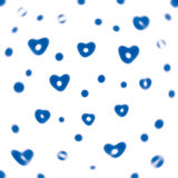 Abstract background hearts. Stock Photos