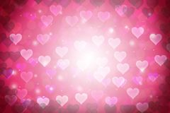 Abstract Background with hearts. Shape Stock Photos