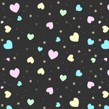 Abstract background of hearts. Colorful Abstract background of hearts Royalty Free Illustration