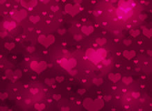 Abstract background of hearts Royalty Free Stock Photo
