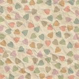 Abstract background of hearts Royalty Free Stock Images