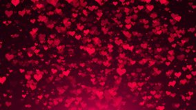 Abstract background with hearts. Digital illustration Royalty Free Stock Image
