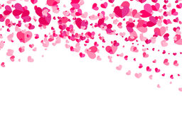 Abstract background with hearts. Stock Images