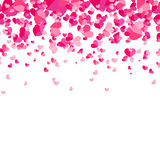 Abstract background with hearts. Stock Photography