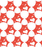 Abstract background with hearts for St. Valentine day. Concept of love. Vector illustration Royalty Free Stock Photography
