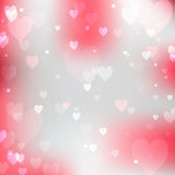 Abstract background with hearts. Royalty Free Stock Photography