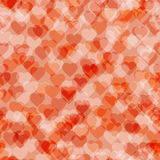 Abstract background hearts. Vector illustration. Seamless pattern royalty free illustration
