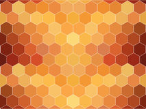 Abstract background. With hexacon pattern Royalty Free Stock Photography