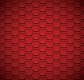 Abstract background with hexagon elements vector illustration Stock Images
