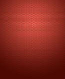 Abstract background of hexagon pattern on red gradient. Stock Photos