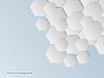 Abstract background Hexagon and polygon Royalty Free Stock Image