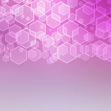 Abstract background with hexagon Royalty Free Stock Image