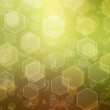 Abstract background with hexagon Royalty Free Stock Photography