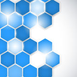 Abstract background hexagon. Vector Royalty Free Stock Images