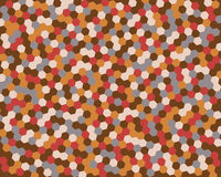Abstract background hexagon. Vector illustration. Royalty Free Stock Photography