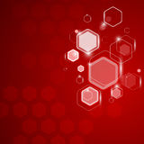 Abstract background hexagon. Vector illustration Royalty Free Stock Images