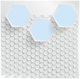 Abstract background Hexagon. Web and Design Stock Photos