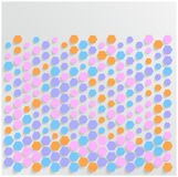 Abstract background Hexagon. Web and Design Stock Photo
