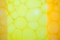 Abstract background with hexagonal geometric shapes Stock Photography