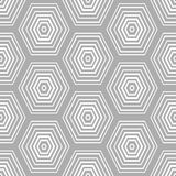 Abstract background with hexagonal shapes. Stock Photo