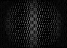 Abstract background with hexagons. Dark abstract background with a net made from hexagons Stock Photos