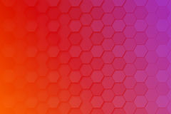 Abstract background with hexagons. Art Stock Images
