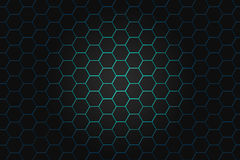 Abstract background with hexagons. Hi-tech digital technology. Concept abstract background. Abstract illustration Royalty Free Stock Photos