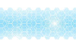 Abstract background hexagons pattern innovation tech concept. EPS 10 vector Royalty Free Stock Photos