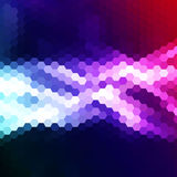 Abstract background of hexagons. Royalty Free Stock Images