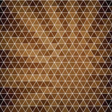 Abstract background of hexagons in retro style. Royalty Free Stock Photo