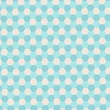 Abstract background with hexagons Stock Photography