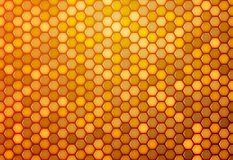 Abstract background from hexagons Royalty Free Stock Photography