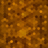 Abstract background of hexagons. Vector illustration for your design Royalty Free Stock Images