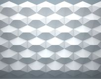 Abstract background of hexagons on white background. Abstract background of hexagons and white background Royalty Free Stock Image