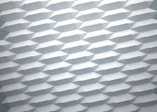 Abstract background of hexagons on white background. Abstract background of hexagons and white background Royalty Free Stock Photo