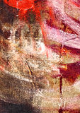 Abstract background. High resolution abstract painted background. Oil on canvas Stock Image