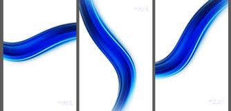 Abstract background high technology collection.  royalty free illustration