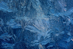 Abstract background hoarfrost Stock Photos