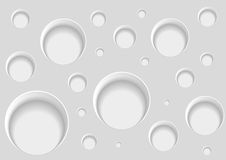 Abstract background with holes. Vector illustration Stock Photos