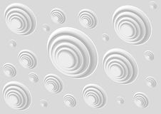 Abstract background with holes. Vector illustration Royalty Free Stock Image