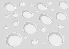 Abstract background with holes. Vector illustration Royalty Free Stock Photography