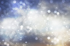 Abstract background of holiday lights Stock Photography
