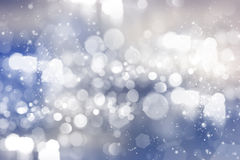 Abstract background of holiday lights. Bokeh Royalty Free Stock Photo